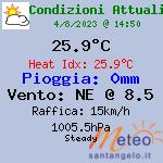 Dati meteo e Webcam a Sant Angelo di Sala - Venezia, Italia