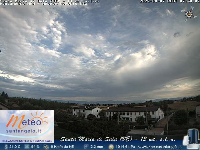 Webcam Santa Maria di Sala (VE)